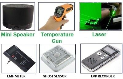 Ghost Beginner's Spirit Paranormal Hunt Kit Equipment - Trigger Hunts Emf Evp