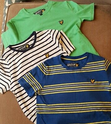 Boys Lyle And Scott T-shirts Age 7-8