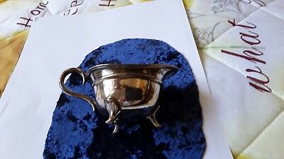 Silver Plated Cream Jug Vintage Item