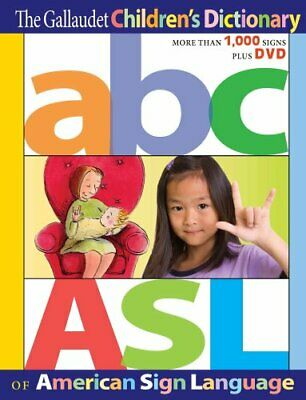 The Gallaudet Children's Dictionary of American Sign Language 9781563686313