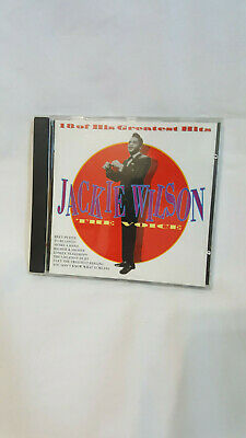 Jackie Wilson  The Voice  18 Of His Greatest Hits  British import  CD