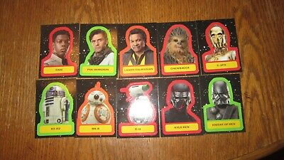 "Star Wars ""Journey To The Rise Of Skywalker"" 2019 (Sticker Card's ""You Pick"")"