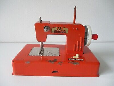 Late 1950's  Muller Regina toy sewing machine battery operated