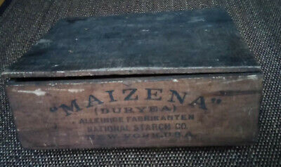 "Verpackung ""MAIZENA"" (DURYEA), NATIONAL STARCH CO., NEW YORK, U.S.A., ca 1900"