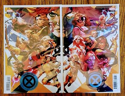 2019 Marvel Comics House Of X & Powers Of X #2 Connecting Putri Variant Cover Nm