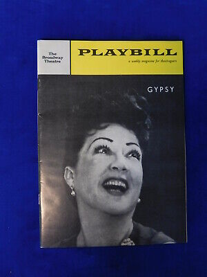 Vintage Gypsy Ethel Merman 1959 Playbill Broadway Theatre
