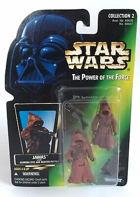 Star Wars Power Of The Force Jawas Action Figure 2 Pack Kenner