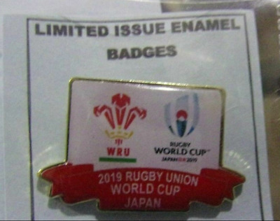 Wales  Rare Limited Edition Rugby World Cup Japan 2019 Badge