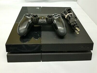 Sony PlayStation PS4 500GB Black Gaming Console Model CUH-1001A #13278