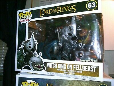 Funko Pop Rides #63: The Lord of the Rings WITCH KING ON FELLBEAST *NEW IN BOX*