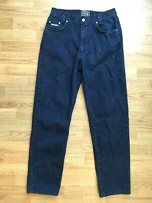 Vintage Versace Classic V-2 Men's Jeans Size 32 Dark Blue Made in Italy