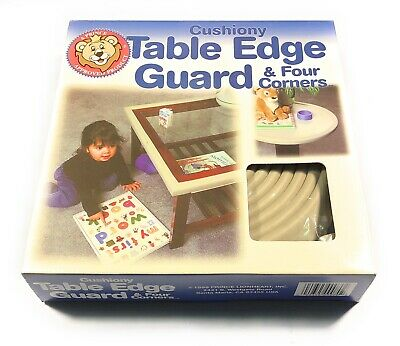 PRINCE LIONHEART CUSHIONY TABLE EDGE GUARD 12 Feet + 4 Corners