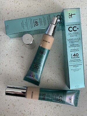 IT Cosmetics Your Skin But Better CC+ Cream Oil-Free SPF 40 Light