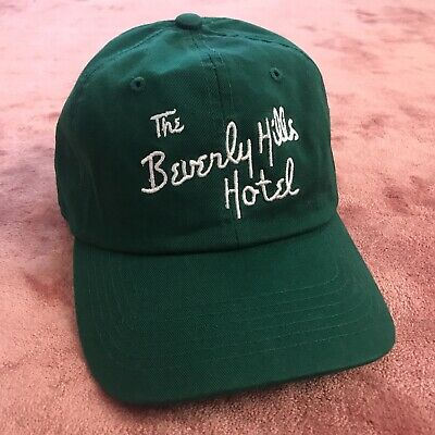 90s VINTAGE THE BEVERLY HILLS HOTEL POLO LOUNGE BAR BASEBALL CAP HAT T-SHIRT 80s