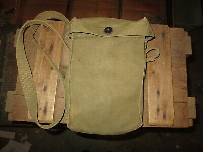 WWII WW2 TOMMY THOMPSON  BAG Cover US ARMY AMMO PARATROOPER ORIGINAL 1943 Avery