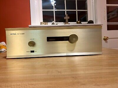 Dynaco Fm3 Tuner Working Original Tubes