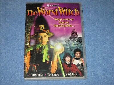 THE WORST WITCH (DVD, 2004) ***Rare, OOP!** Fairuza Balk~Tim Curry~Authentic HBO