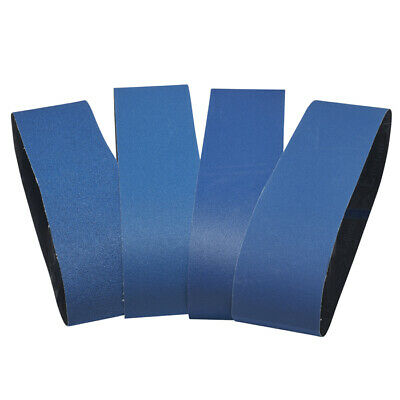 914 x 100mm Blue Zirconia Linishing Sanding Belts # 80 120 180 240 grit