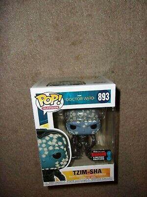 Funko Pop! Doctor Who: Tzim-Sha #893 2019 NYCC Convention Shared Exclusive