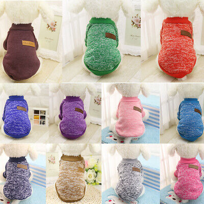 Clothes for Pet SWEATER Chihuahua Yorkie Small Dog Coat Jacket Fleece Soft Warm/