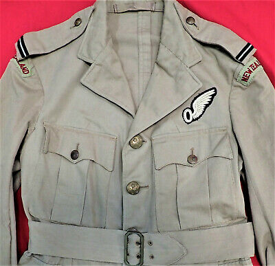 Ww2 Royal New Zealand Air Force Officer's Tropical Jacket Observer Rnzaf