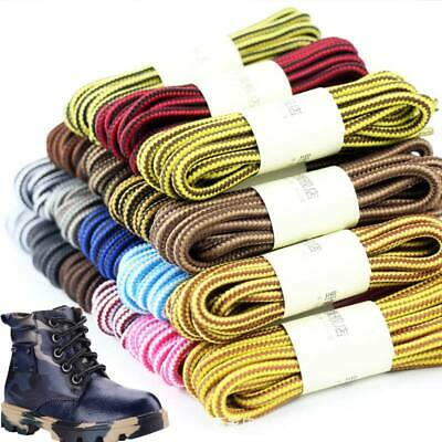 1 Pair Round Shoe Boot Laces Outdoor Mountaineering Hiking Walking Shoelaces