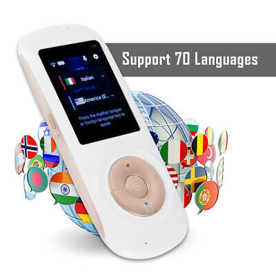 Smart Translator Voice Translation Device for Learning Travel Business AC2020
