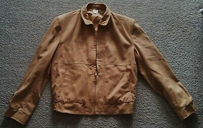 Vintage tan bomber jacket size 105 made in Australia great condition