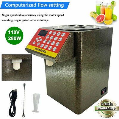 280W Fructose Quantitative Machine Fructose Dispenser Milk Tea Soft Drink 110V