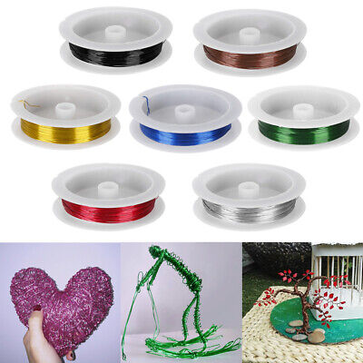 Craft Soft Metal Wreaths Packaging Iron Wire Rope Wire Beads Flower Accessories