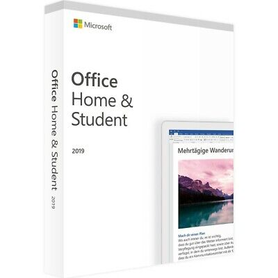 Microsoft Office Home and Student 2019 genuine key for PC