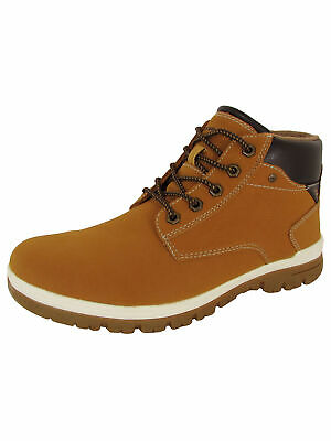Day Five Mens Casual Lace Up Ankle Work Boot Shoes