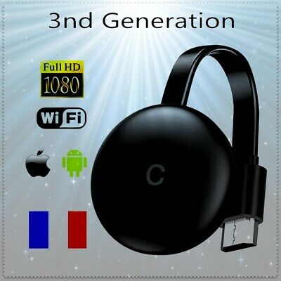 3rd Gen Generation 1080P HD HDMI Media Video Digital Streamer pour Chromecast