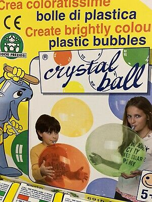 CRYSTAL BALL ASTUCCIO TUBETTO da 20 gr.  COLORI ASSORTITI