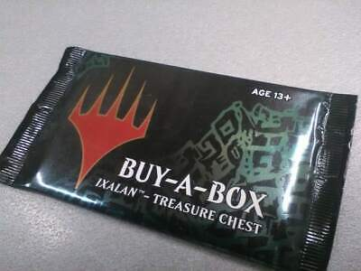 BUY A BOX IXALAN TREASURE CHEST *SEALED* 1 x BOOSTER PACK ENG - MTG Altered Foil