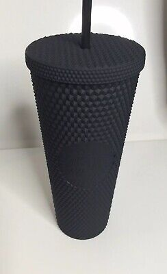 Fall 2019 Starbucks Matte Black Studded Tumbler Cup Limited Edition *New*