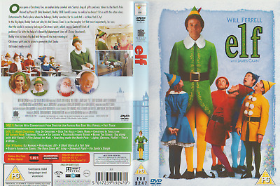 Will Ferrell - Elf With James Caan - Brilliant 2 Dvd Christmas Dvd-5017239192470