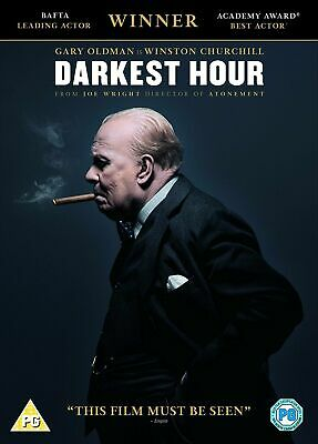 Darkest Hour (DVD, 2017) Gary Oldman pre owned in good condition