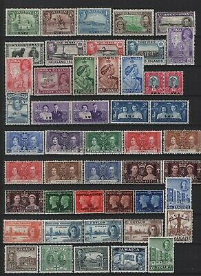 British Colonies & Territories - King George VI MNH/LHM/MM