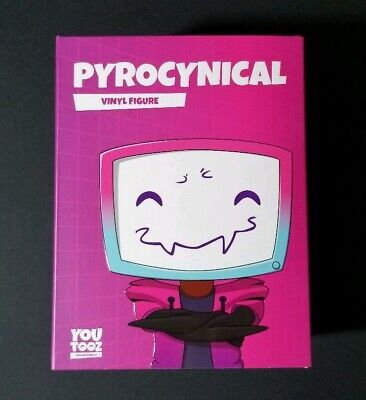 Pyrocynical Youtooz Vinyl Figure Sold Out Limited Edition Brand New YouTube