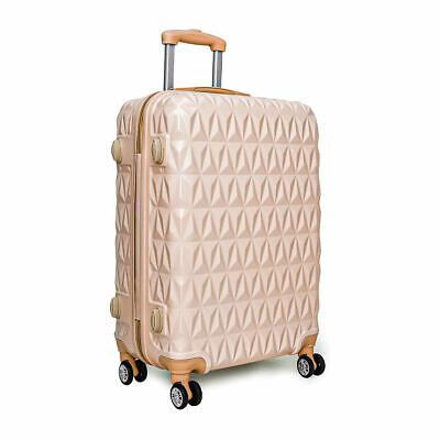 """Large 28"""" 4 Wheel ABS Hard Shell Checked Check In Hold Lugagge Suitcase"""