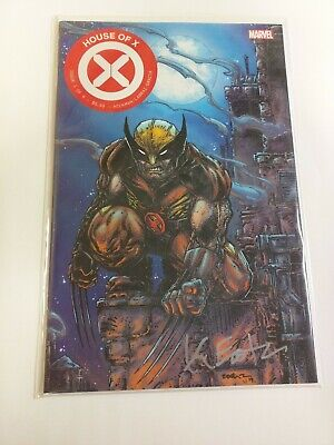 House Of X #1 Eastman Clover Press Variant Signed Edition Marvel Comics 2019 NM