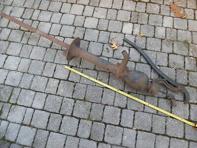 Vintage Antique Hand Pump Well Water Goulds Pump Decor