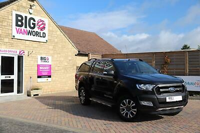 2016 Ford Ranger Wildtrak Tdci 200 4X4 Double Cab With Truckman Top Pick Up Dies