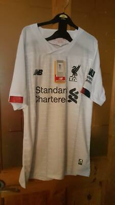 Liverpool FC LFC 2019/2020 AWAY Shirt Top NEW w tags Size XL EXTRA LARGE