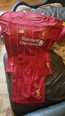 Liverpool FC LFC 2019/2020 Kids Youth HOME Kit NEW w tags Age 10-11