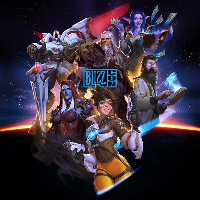 One (1) BlizzCon 2019 Ticket (including Footman statue and virtual goodies code)