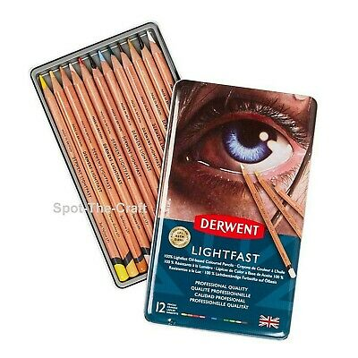 Derwent Lightfast Pencil Set 12 With Tin 2302719