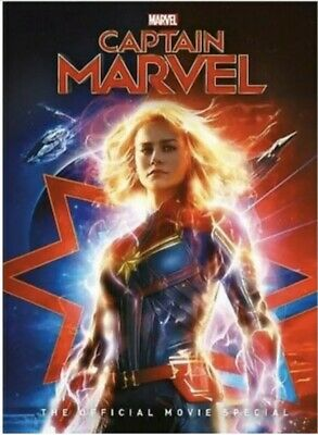 Captain Marvel DVD 2019 New Free Fast Shipping Included 🚀