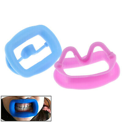 1X Dental Silicone Orthodontic Cheek Retracor Tooth Intraoral Lip Mouth Opener`